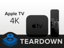 Apple TV 4K smontata, ripararla è un gioco da ragazzi