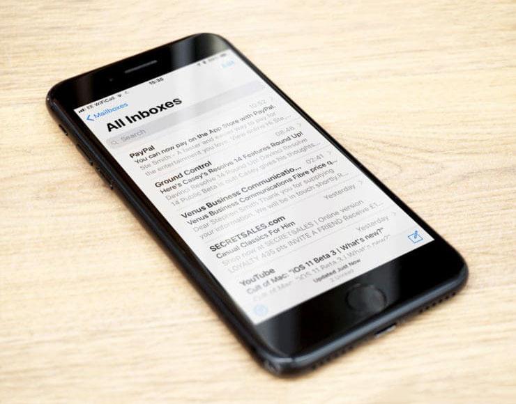 Mail su iPhone