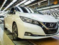 Leaf di Nissan con Carplay pronta al debutto: e in regalo c'è un Apple Watch