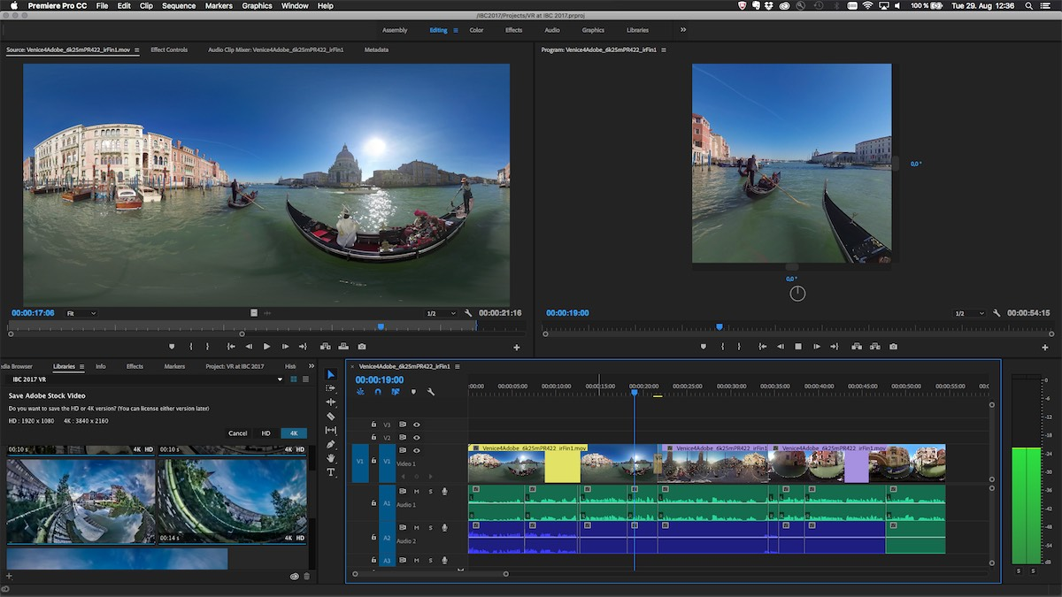 adobe creative cloud video Premiere Pro - Immersive Video