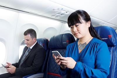 iMessage, Facebook e WhatsApp in aereo