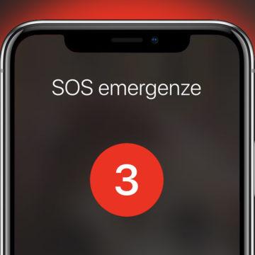 SOS emergenze iOS 11