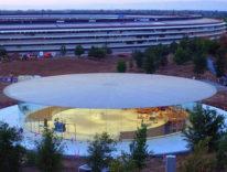Auditorium Steve Jobs, un primo sguardo all'interno del teatro