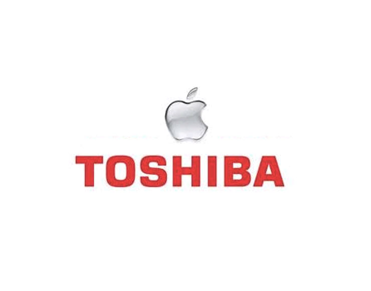 Apple e Toshiba