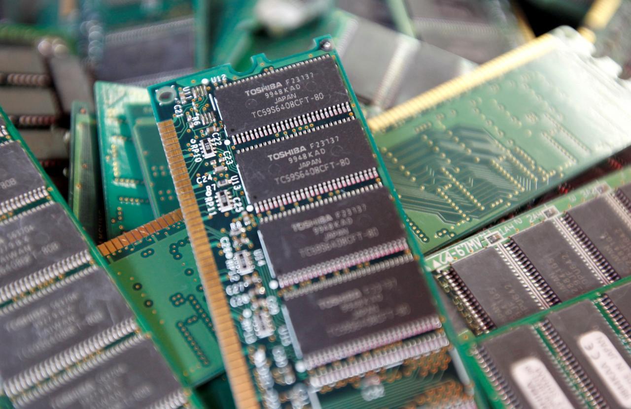 divisione semiconduttori di Toshiba