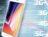 Velocità di iPhone 8 su rete cellulare, poche variazioni