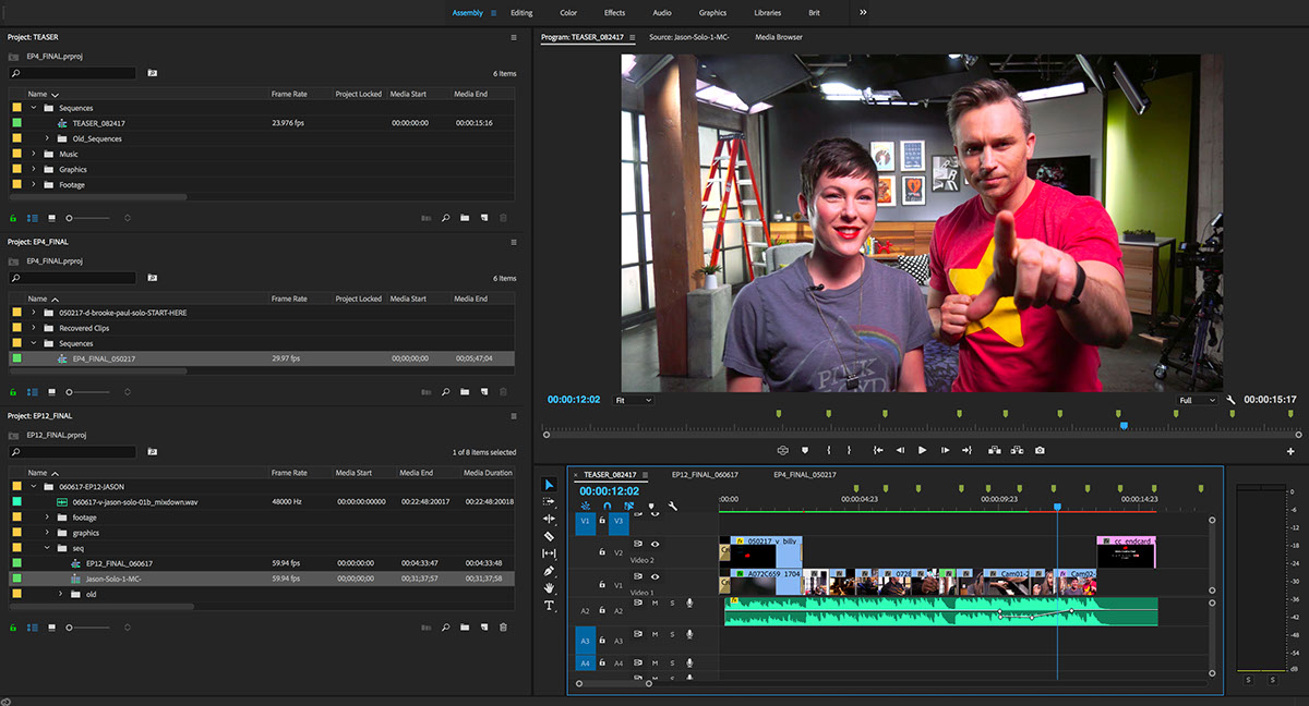 adobe creative cloud video Premiere Pro 2
