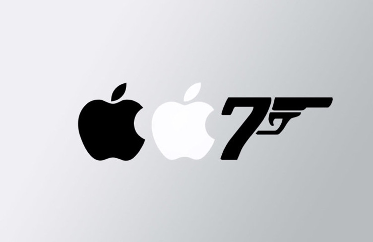 apple james bond