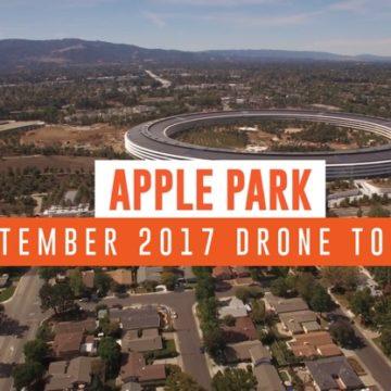 apple park video drone settembre 1