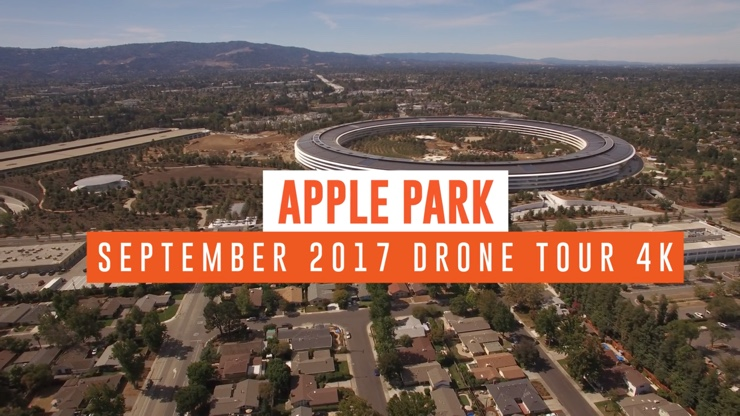 apple park video drone settembre 1
