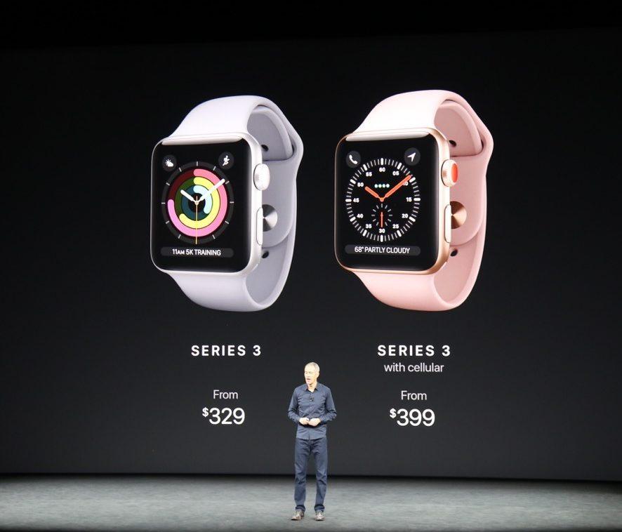 Apple Watch Series 3 italia