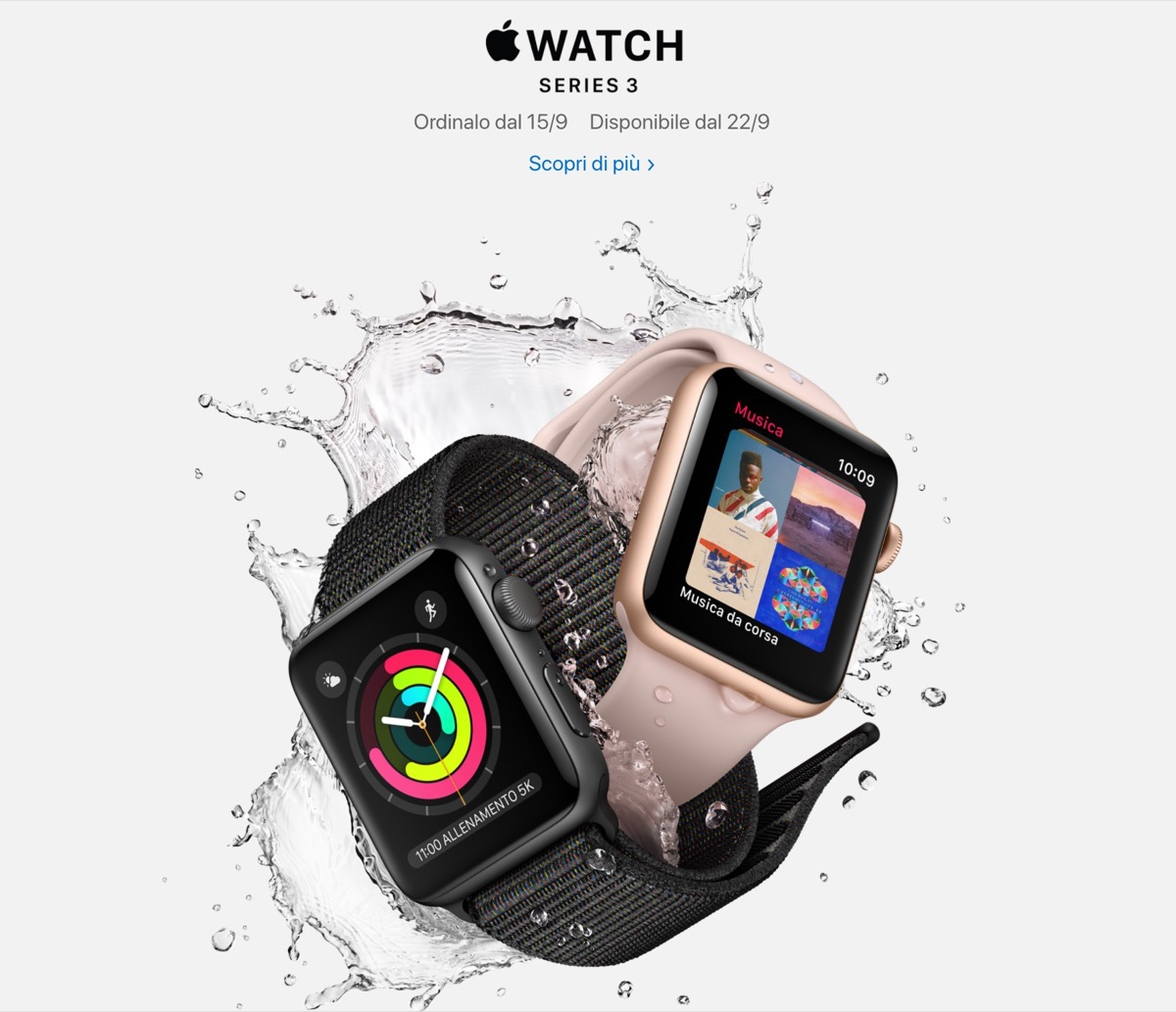 apple watch series 3 italia