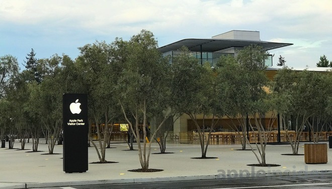 centro visitatori di Apple Park 4