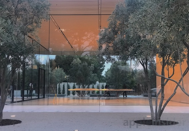 centro visitatori di Apple Park 5