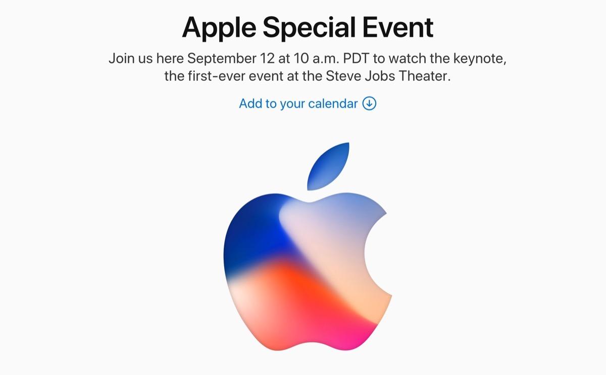 Keynote di iPhone 8