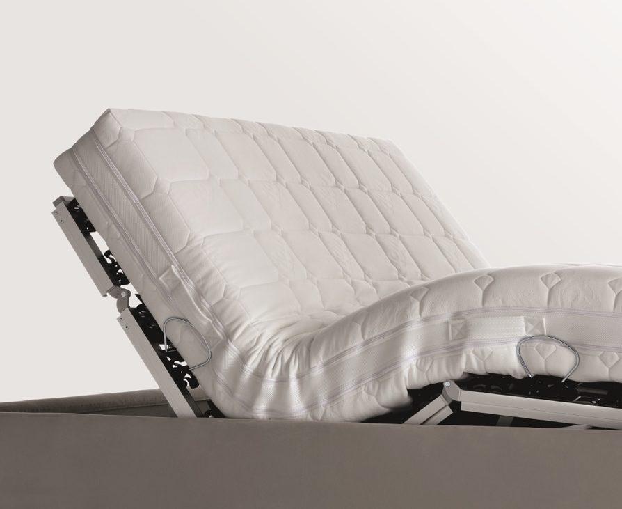 Flou motion 4 la rete per il letto che si regola con un - Letto che si chiude ...