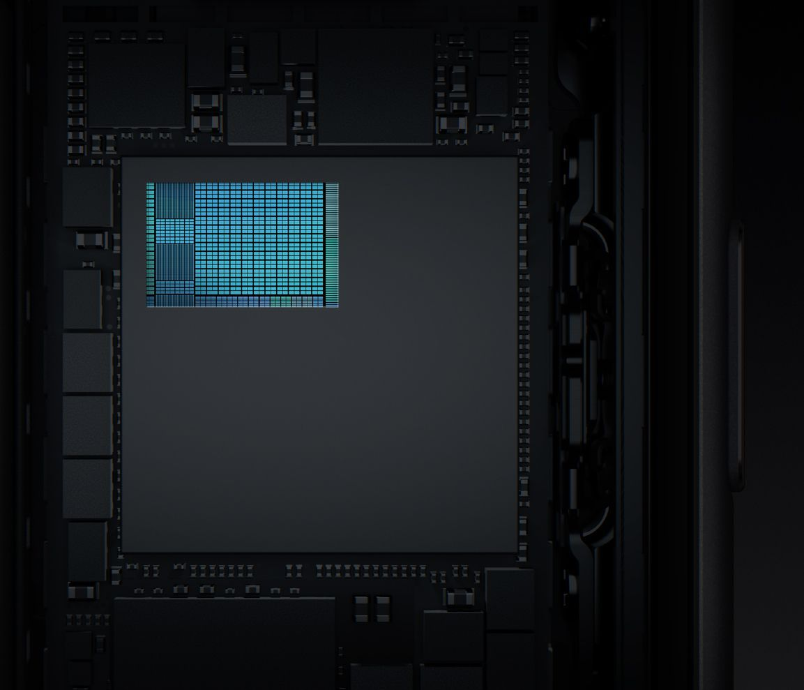 Il chip A11 Bionic integra una GPU progettata da Apple con un design a tre core che offre prestazioni grafiche fino al 30% più veloci rispetto alla generazione precedente.