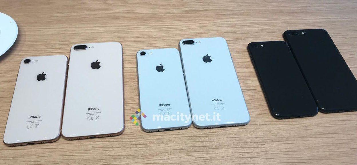 vendite di smartphone - foto famiglia iphone 8 e 8 Plus