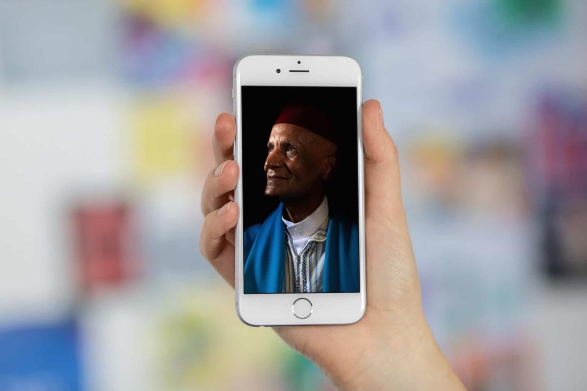 La modalità illuminazione ritratto di iphone ispirata ai pittori