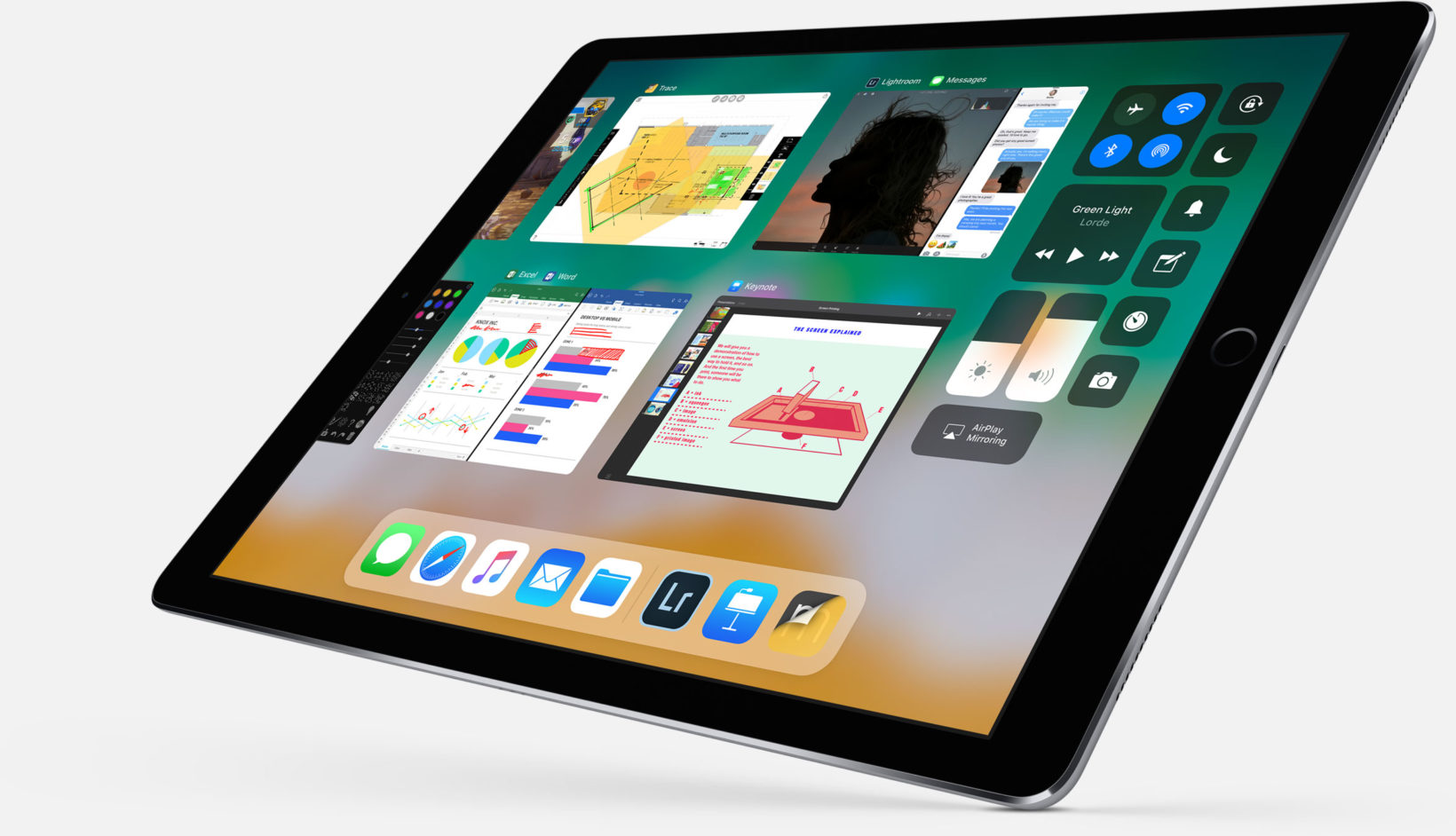 iOS 11 per iPad