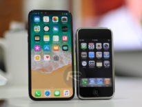 Confronto dimensioni e schermo di tutti gli iPhone dal 2007 fino a iPhone X