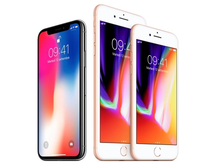 iphone 8 e iPhone X