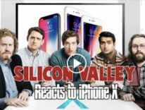 iPhone X demolito nella parodia della serie TV Silicon Valley