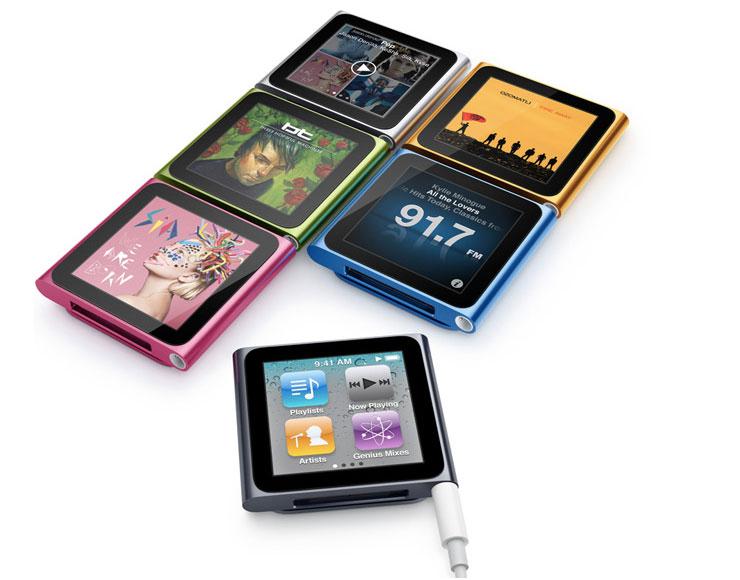 iPod nano di sesta generazione