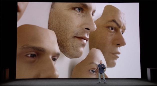 Con Face ID, iPhone X si sblocca soltanto guardandolo. Il sistema è progettato per distinguere il volto da una foto o una maschera. L'autenticazione avviene all'istante sul dispositivo stesso (non sul cloud).