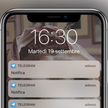 notifiche ios 11