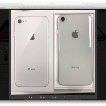 unboxing iPhone 8