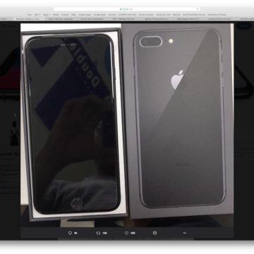 unboxing iPhone 8 plus 2