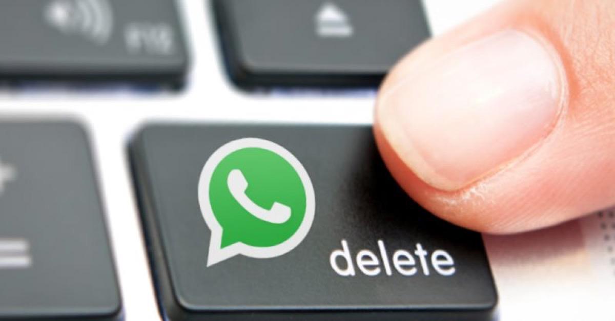 eliminare messaggi inviati