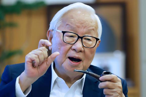 Morris Chang, Presidente di Taiwan Semiconductor Manufacturing. Foto: Shinya Sawai