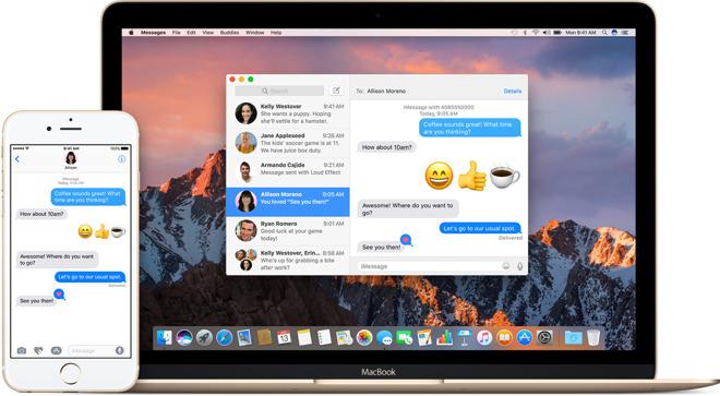 Ritardo nei messaggi su Mac
