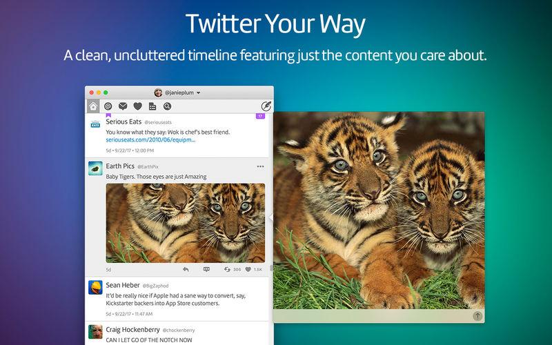 Twitterrific 5 per Mac