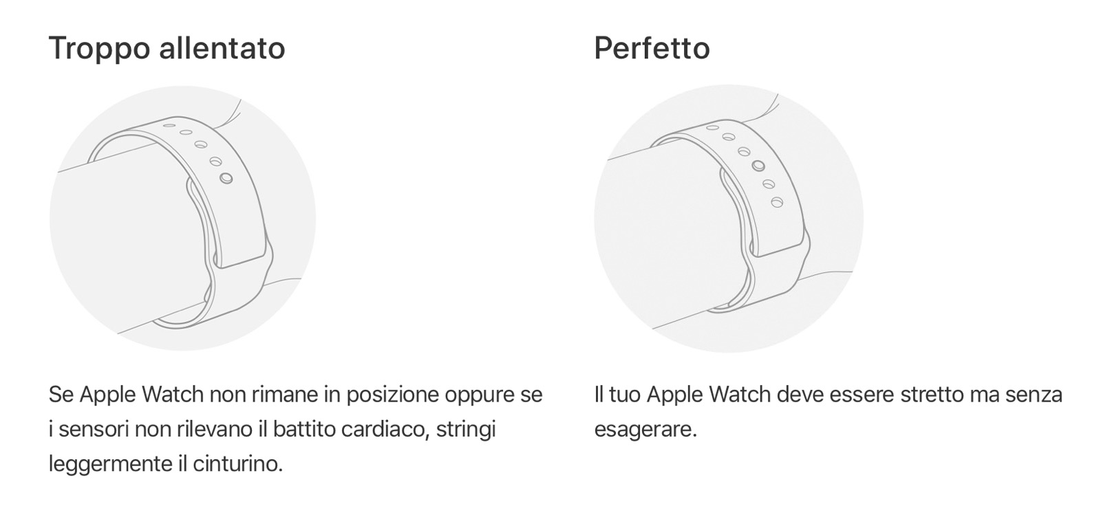 Apple Watch battito cardiaco