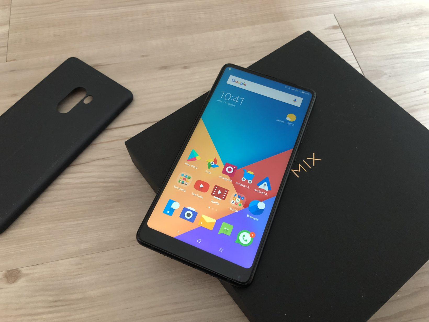 Xiaomi non solo con Mi Mix 2 ha l hardware per affrontare iPhone X ma ha anche un software curato sotto tutti i punti di vista