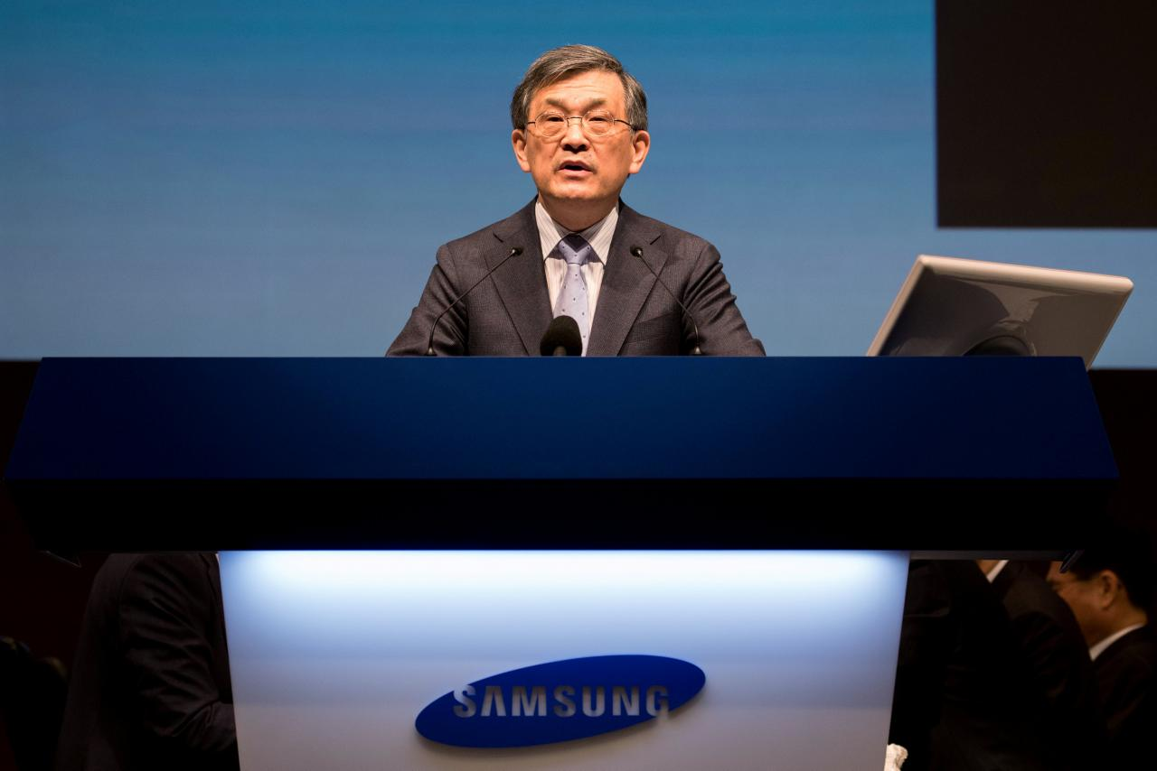 Kwon Oh-Hyun, co-chief executive officer di Samsung Electronics - Foto: REUTERS/SeongJoon Cho