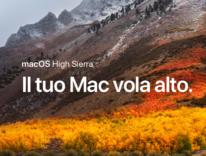 Apple rilascia un aggiornamento per macOS High Sierra