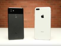 Testa a testa tra Pixel 2 XL contro iPhone 8 Plus nella gara di velocità