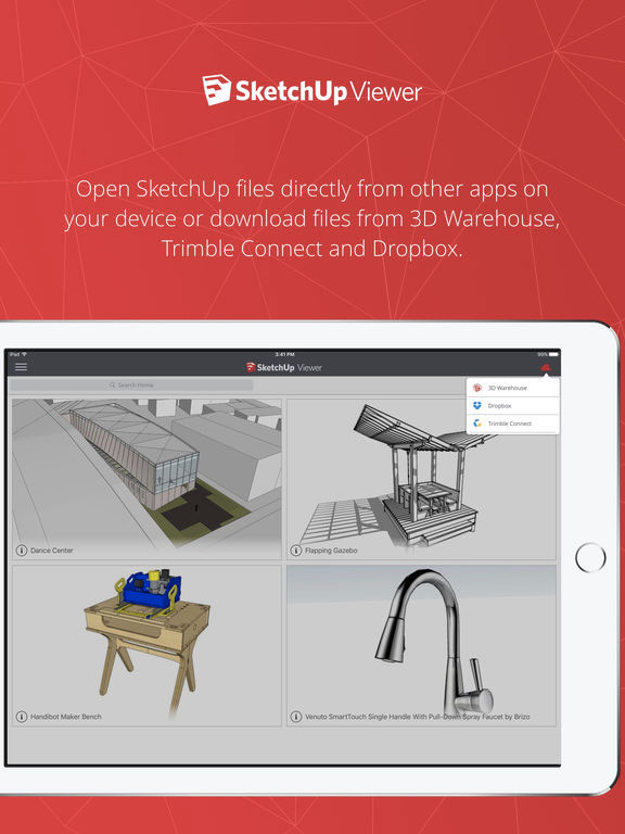 SketchUp Viewer visualizza i modelli 3D su iPad e iPhone - Macitynet it
