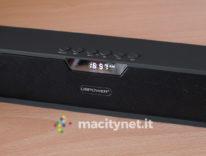 Speaker DBPower, forma stile soundbar e musica senza fili da ogni dove