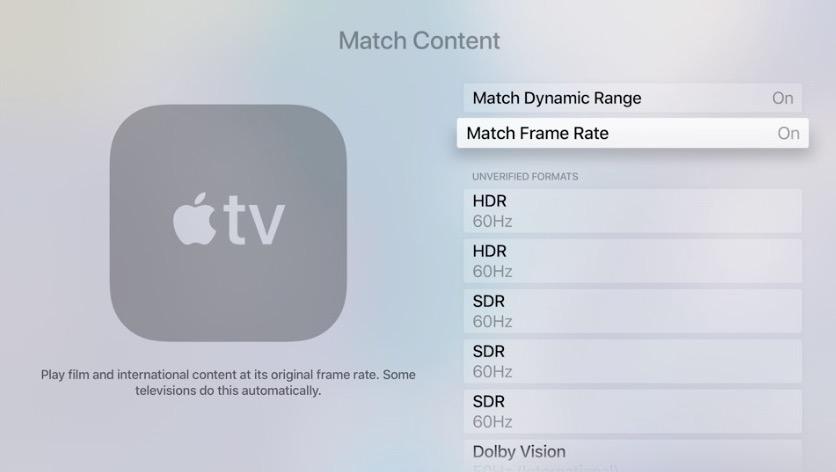 HDR su Apple TV 4K