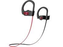 Auricolari Bluetooth in-ear per sportivi certificati IPX7: sconto a 16,99 euro