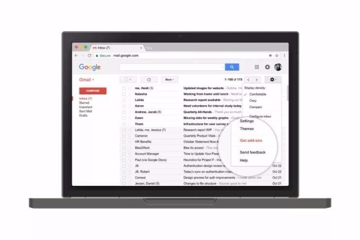 add-on per Gmail