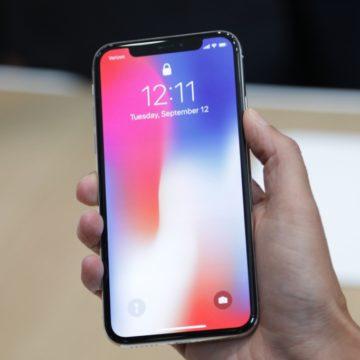 produzione iphone x