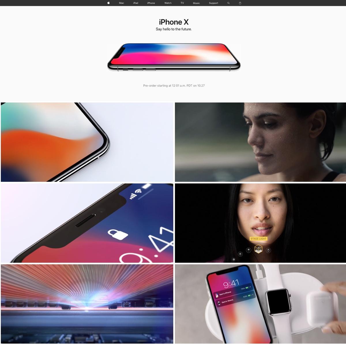iphone x domina applecom
