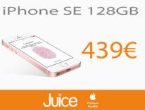 Da Juice iPhone SE 128 GB costa 100 euro meno