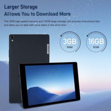 Super offerta Lenovo P8: il tablet adatto ai bambini in sconto a meno di 127 euro
